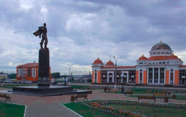 Памятник в городе Саранск