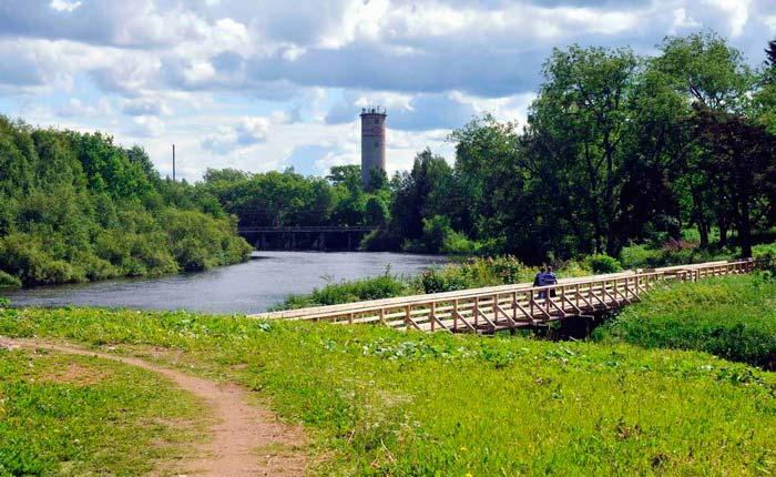 Олонец и его городской парк