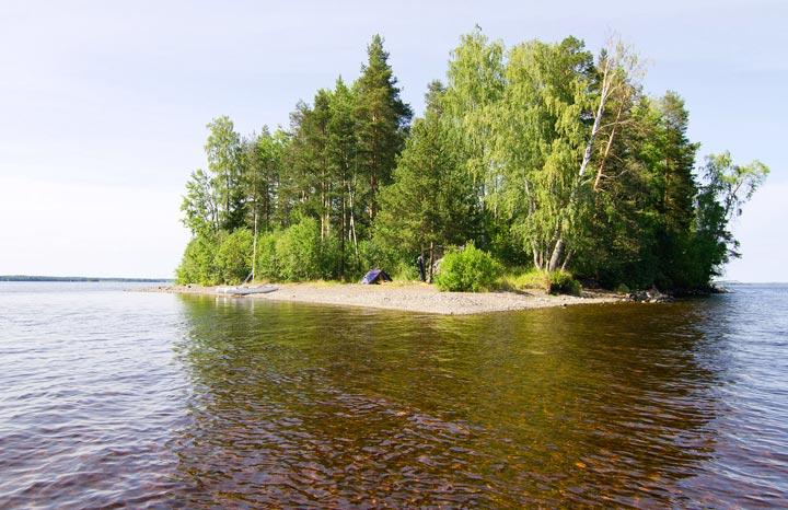 ОТдых на озере Сандал Кондопоги