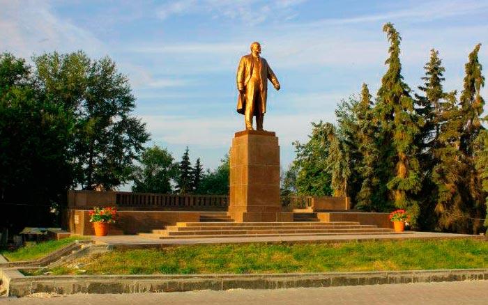 Памятник В.И. Ленину в Саранске