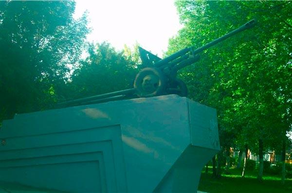 Памятник Подольским курсантам в Саранске