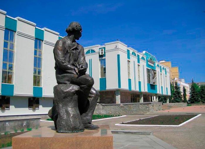 Памятник скульптору C.Д.-Эрьзе в Саранске
