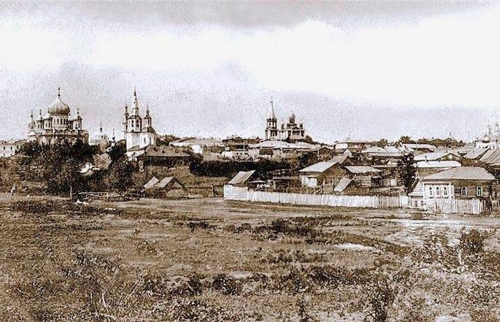 Саранск в старину