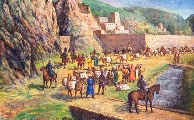Столица Древней Алании на територии современного Архыза