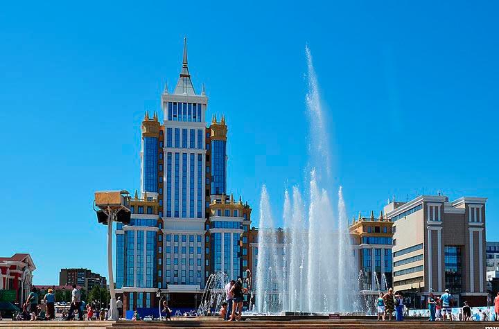 Саранск - столица Мордовии
