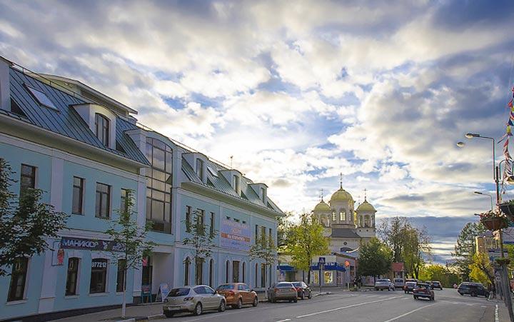 Центр Звенигорода