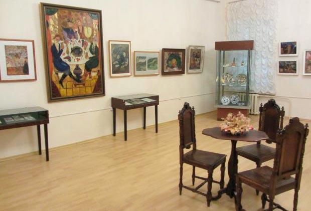 Картинная галерея в Ивангороде