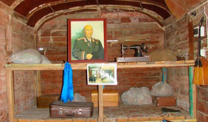Вагон –музей сталинской депортации калмыков в Элисте