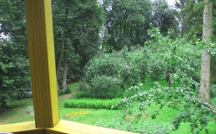 Вид из усадьбы Пришвина