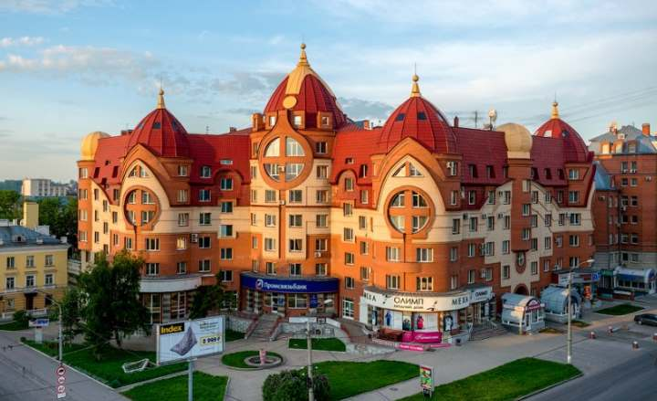 Новостройка города Барнаула