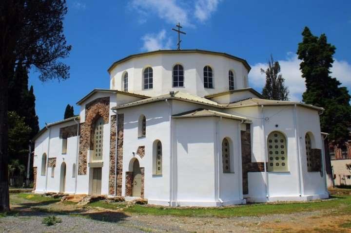 Храм города Новый Афон