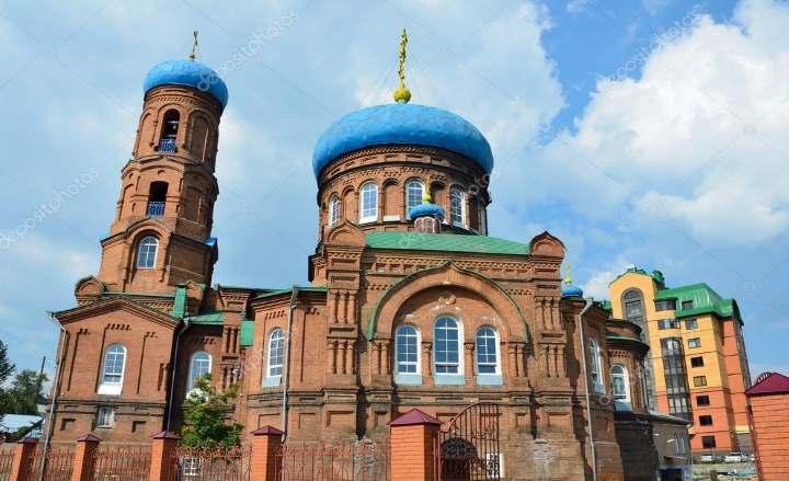 Собор города Барнаула
