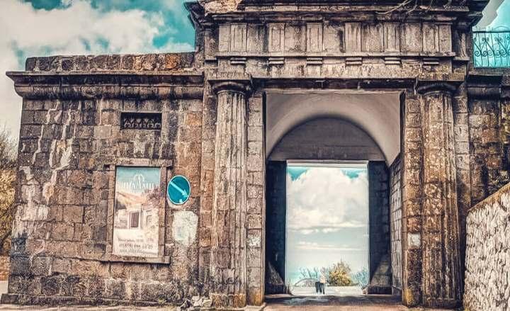 Ворота в Форосе