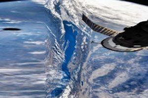 Фото спутника. Озеро Байкал
