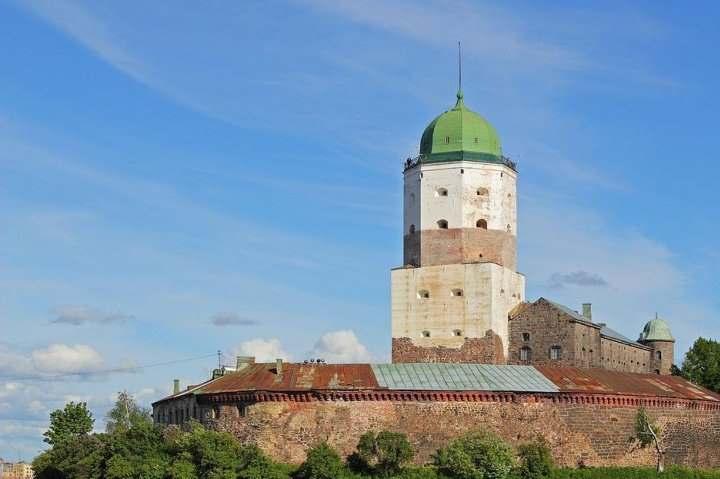Башня Выборга