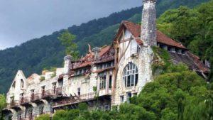 Замки в городе Гагры