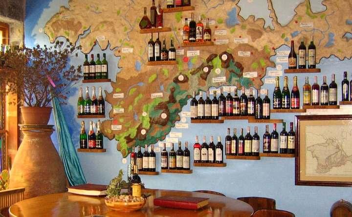 Вино в городе Саки