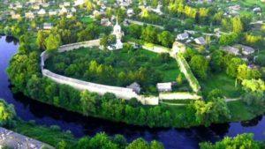 Вид на город Порхов