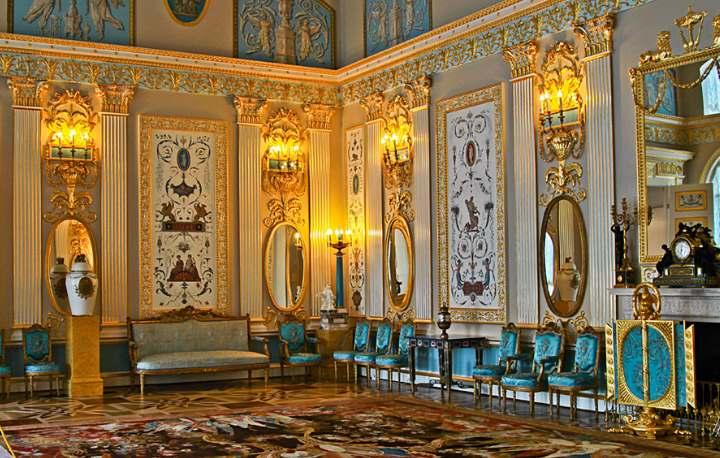 Дворец в Пушкино