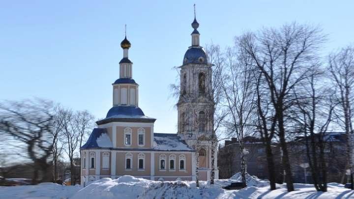 Церковь города Углича