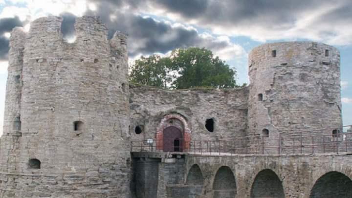 Крепость городка Сосновый бор