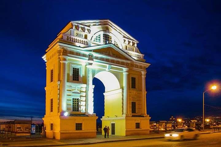 Ворота города Иркутска
