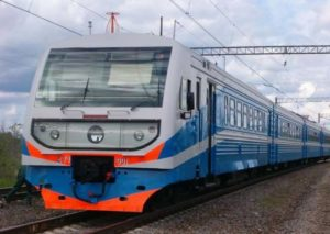 Фасад поезда на Керчь