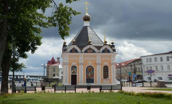 Церковь Рыбинска