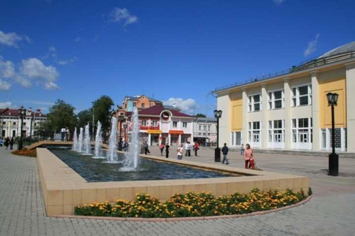 Площадь города Иркутска