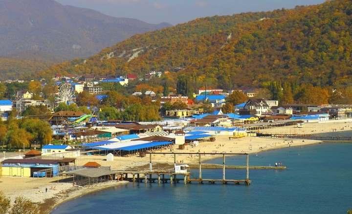 Фото пляжей Архипо-Осиповки