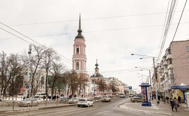 Улица в городе Калуга