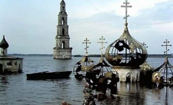 Город в воде Рыбинска