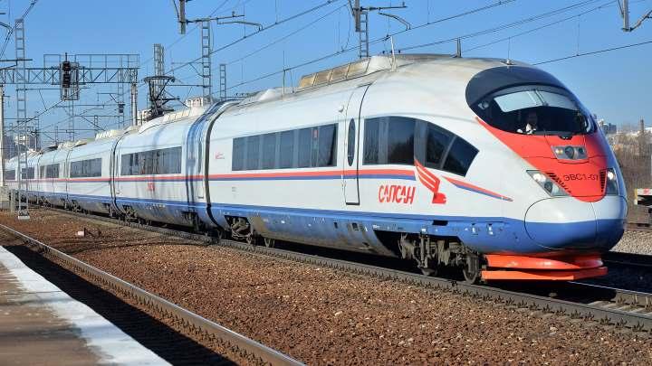 Скоростной поезд на Тулу