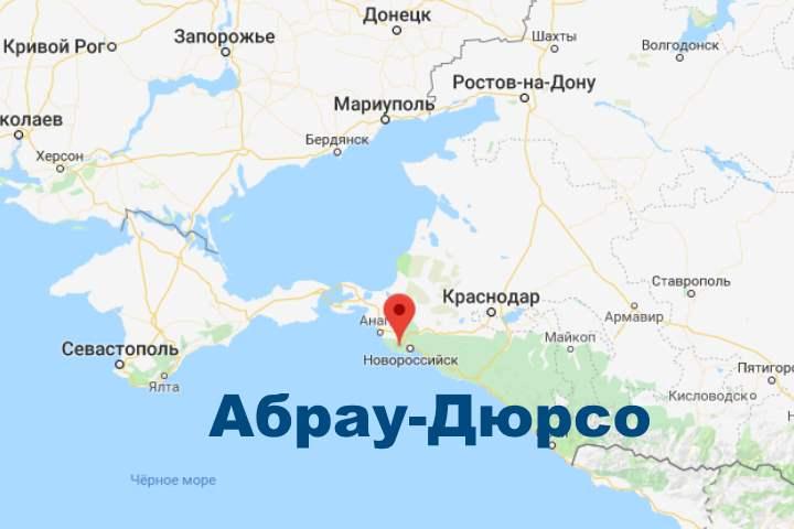 Расположение села на карте