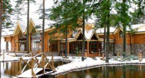 Красивые дома в Комарово