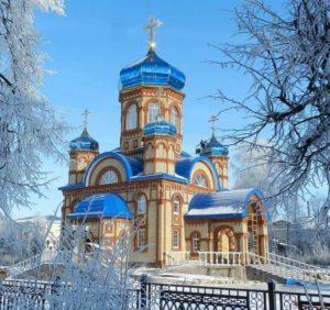 Зимний пейзаж
