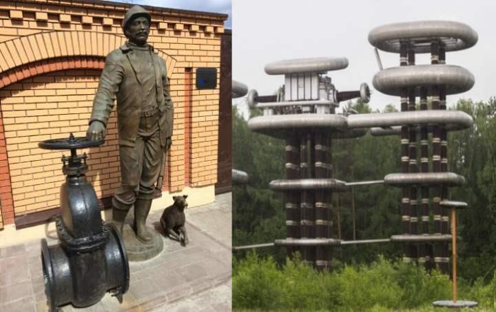 Памятники города Истра
