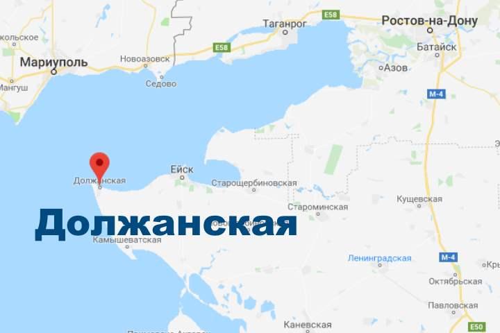 Где на карте Должанское