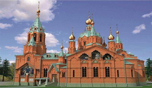 Александро-Невская церковь святыня челябинска