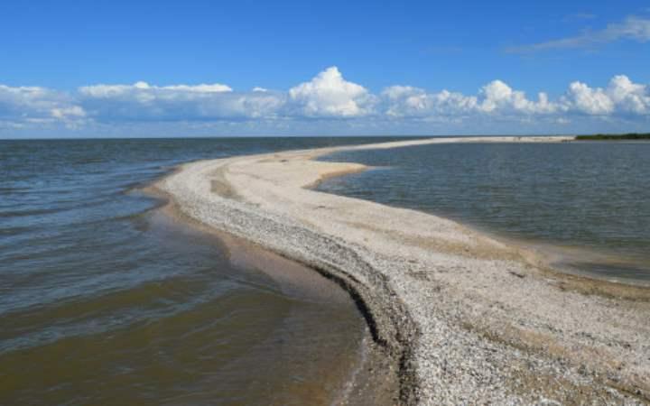 Часть таганрогского залива