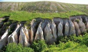 территория заповедника делится на Большие Дивы и Малые