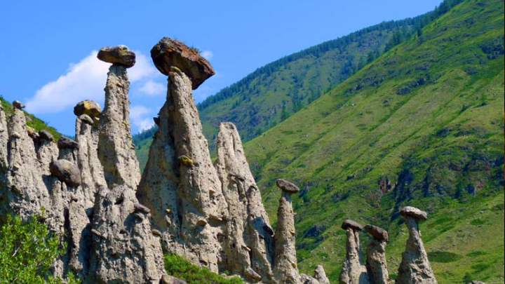 Скалы городка Алушты