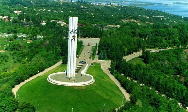 Памятник города Саратов