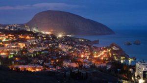 Ночной Крым