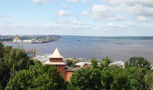 Вид на озеро в Иваново