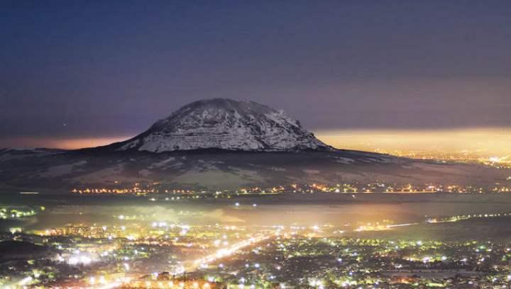 Гора Змейка – один из главных символов региона