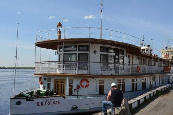 Колесный пароход был построен аж в 1911 году