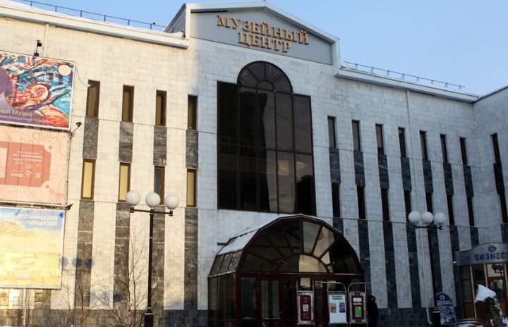 Музей края города Сургут