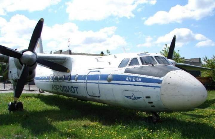 Самолет в городе Кургане