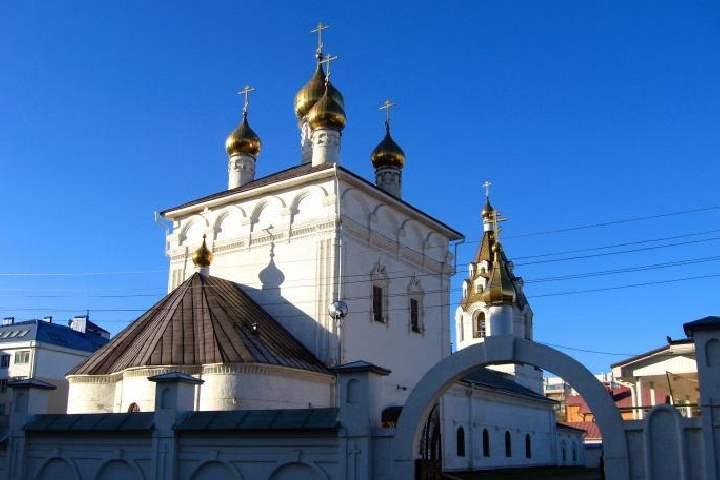 Гордостью монастыря были его храмы